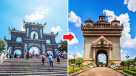Thời gian bay từ Đà Nẵng đến Viêng Chăn (Vientiane) mất bao lâu?
