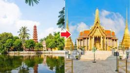 Thời gian bay từ Hà Nội đến Bangkok mất bao lâu?