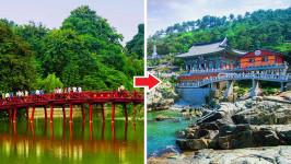 Thời gian bay từ Hà Nội đến Busan mất bao lâu?