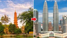 Thời gian bay từ Hà Nội đến Kuala Lumpur mất bao lâu?