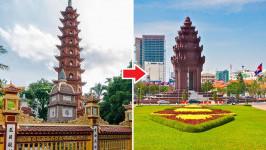 Thời gian bay từ Hà Nội đến Phnom Penh mất bao lâu?