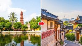 Thời gian bay từ Hà Nội đến Seoul mất bao lâu?