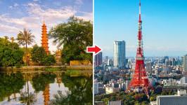 Thời gian bay từ Hà Nội đến Tokyo Haneda mất bao lâu?