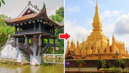 Thời gian bay từ Hà Nội đến Viêng Chăn (Vientiane) mất bao lâu?