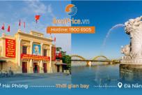 Thời gian bay từ Hải Phòng đến Đà Nẵng mất bao lâu?