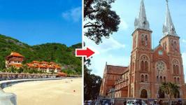 Thời gian bay từ Hải Phòng đến Hồ Chí Minh mất bao lâu?