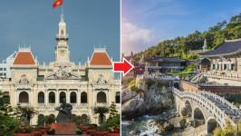 Thời gian bay từ Hồ Chí Minh đến Busan mất bao lâu?