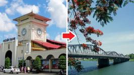 Thời gian bay từ Hồ Chí Minh đến Huế mất bao lâu?
