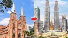 Thời gian bay từ Hồ Chí Minh đến Kuala Lumpur mất bao lâu?