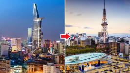 Thời gian bay từ Hồ Chí Minh đến Nagoya mất bao lâu?