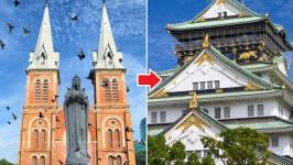 Thời gian bay từ Hồ Chí Minh đến Osaka mất bao lâu?