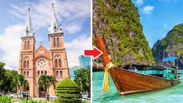 Thời gian bay từ Hồ Chí Minh đến Phuket mất bao lâu?