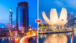 Thời gian bay từ Hồ Chí Minh đến Singapore mất bao lâu?