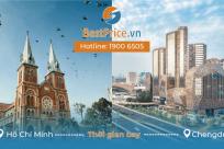 Thời gian bay từ Hồ Chí Minh đến Thành Đô (Chengdu) mất bao lâu?