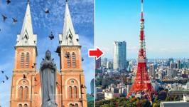 Thời gian bay từ Hồ Chí Minh đến Tokyo Haneda mất bao lâu?