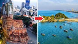 Thời gian bay từ Hồ Chí Minh đến Vinh mất bao lâu?