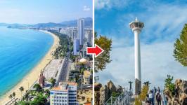 Thời gian bay từ Nha Trang đến Busan mất bao lâu?