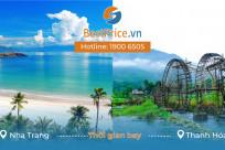 Thời gian bay từ Nha Trang đến Thanh Hóa mất bao lâu?