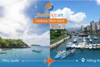 Thời gian bay từ Phú Quốc đi Hong Kong mất bao lâu?