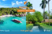 Thời gian bay từ Phú Quốc đi Vinh mất bao lâu?