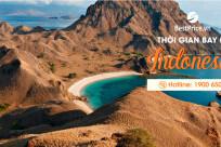 Thời gian bay từ Việt Nam đến Indonesia mất bao lâu?