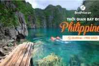Thời gian bay từ Việt Nam đến Philippines mất bao lâu?