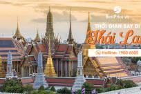 Thời gian bay từ Việt Nam đến Thái Lan mất bao lâu?