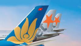 Thông báo lịch bay và số hiệu chuyến bay VN*/BL