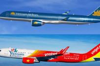 Thông tin thay đổi giá vé và thuế phí từ Vietnam Airlines và Vietjet Air ngày 01/04/2018