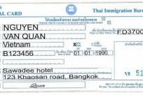 Thủ tục & Giấy tờ nào cần thiết khi đi Thái Lan?
