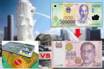 Tiền tệ ở Singapore và cách đổi tiền