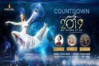 Tổng hợp chương trình đêm  31/12/2018 tại Vinpearl