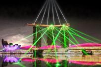 Top những show diễn âm thanh ánh sáng huyền ảo tại Singapore