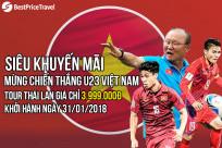 Tour Thái Lan chỉ 3.999.000Đ