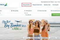 Tra cứu giờ hạ cánh, thông tin chuyến bay hãng Bamboo Airways