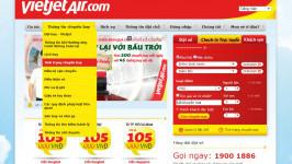 Tra cứu giờ hạ cánh, thông tin chuyến bay hãng Vietjet Air