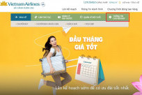 Tra cứu giờ hạ cánh, thông tin chuyến bay hãng Vietnam Airlines