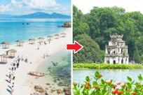 Vé máy bay giá rẻ từ Nha Trang đến Hà Nội