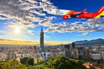 Vé máy bay từ Việt Nam đi Đài Loan giá bao nhiêu?