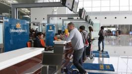Vị trí quầy làm thủ tục check in của các hãng hàng không tại sân bay Nội Bài