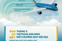 Vietnam Airlines tăng cường chuyến bay nội địa 05/2020