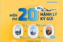 [Vietravel Airlines] Ưu đãi TẶNG 20KG hành lý ký gửi
