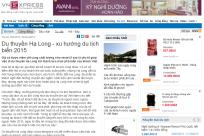 (Vnexpress.net) Du thuyền Hạ Long - xu hướng du lịch biển 2015