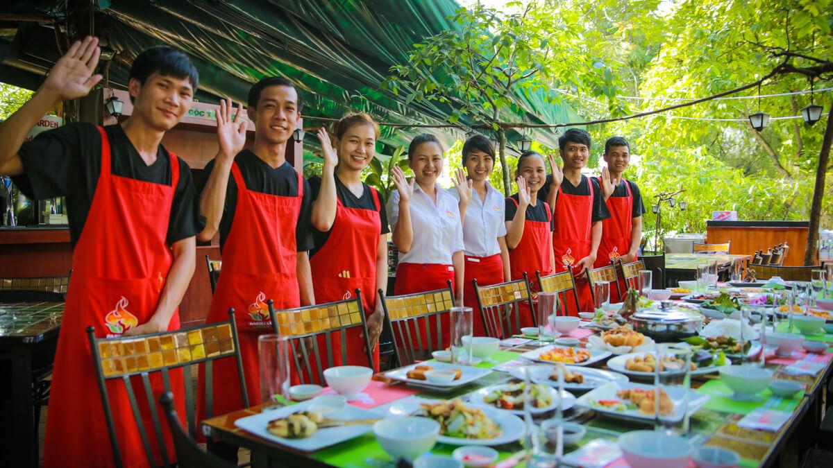 Quán nướng sân vườn ngon rẻ ở Sài Gòn
