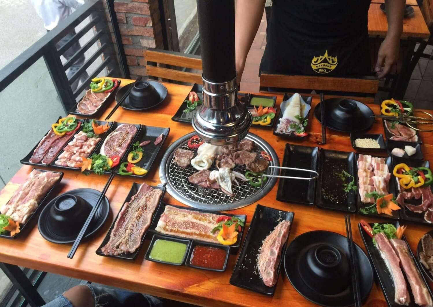 Đồ nướng ngon - bổ - rẻ ở Sài Gòn