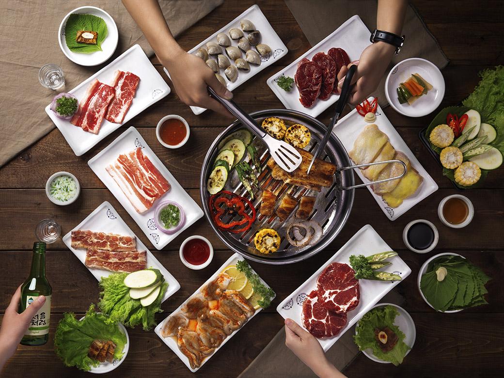 Quán nướng ngon rẻ ở Sài Gòn kiểu Hàn