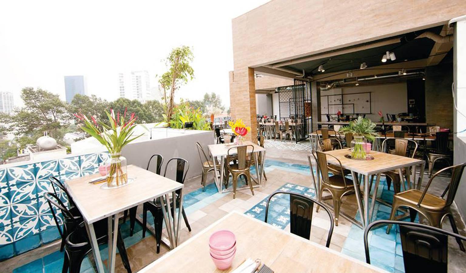 Quán nướng ngon rẻ vị trí cao nhất Sài Gòn