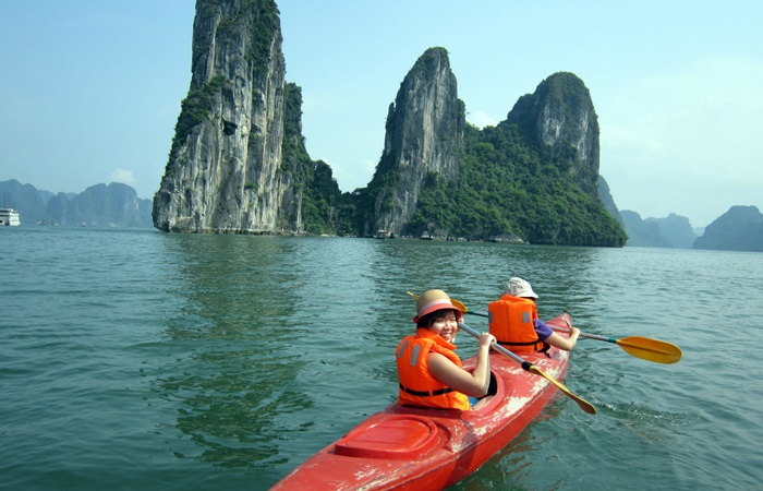Trải nghiệm chèo thuyền kayaking