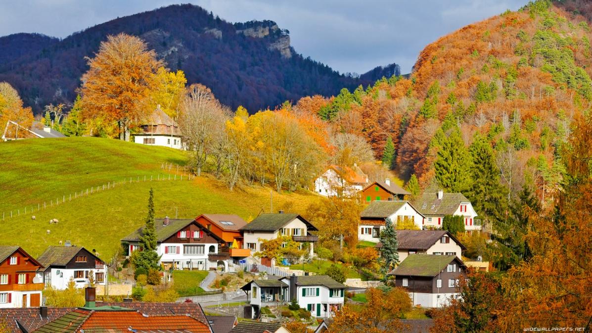Cảnh đẹp Thụy Sỹ
