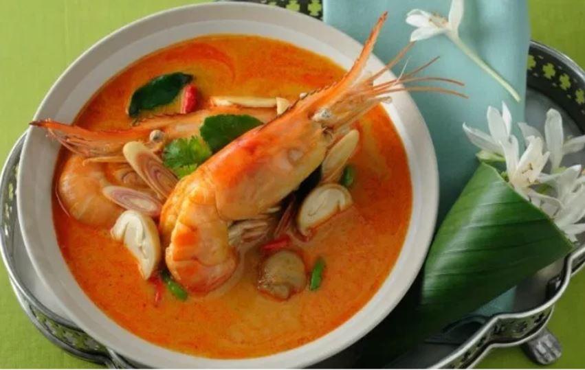 Món tom yum nổi tiếng ở Thái Lan